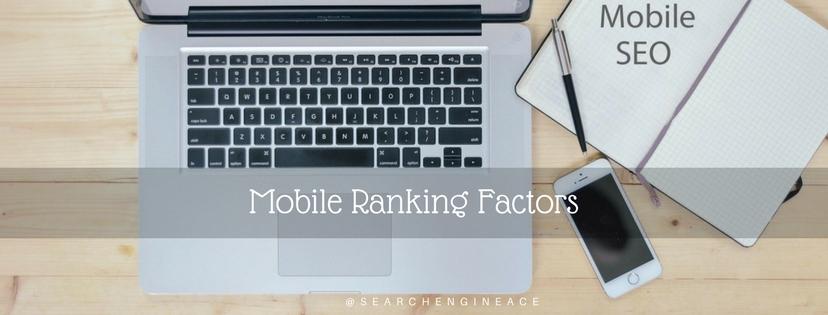 Mobile Ranking Factors