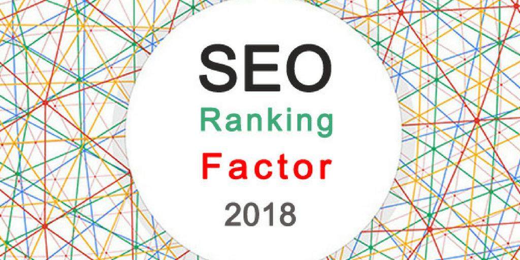 SEO Factors 2018